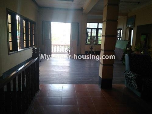 မြန်မာအိမ်ခြံမြေ - ရောင်းမည် property - No.3415 - လှိုင်သာယာ F.M.I City အနီးတွင် နှစ်ထပ်အိမ် လုံးချင်းတစ်လုံး ရောင်းရန်ရှိသည်။ - upstairs view