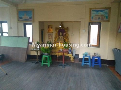 မြန်မာအိမ်ခြံမြေ - ရောင်းမည် property - No.3415 - လှိုင်သာယာ F.M.I City အနီးတွင် နှစ်ထပ်အိမ် လုံးချင်းတစ်လုံး ရောင်းရန်ရှိသည်။ - prayer room area