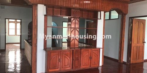 Myanmar real estate - for sale property - No.3420 - Nice Villa for sale in Thiri Yeik Mon Housing, Mayangone! - second floor interior view