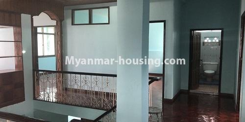 Myanmar real estate - for sale property - No.3420 - Nice Villa for sale in Thiri Yeik Mon Housing, Mayangone! - third floor intterior view
