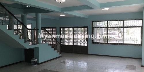 Myanmar real estate - for sale property - No.3420 - Nice Villa for sale in Thiri Yeik Mon Housing, Mayangone! - ground floor interior view