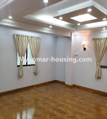 Myanmar real estate - for sale property - No.3430 - Newly renovated 2BHK apartment room for sale in Sanchaung! - living room view