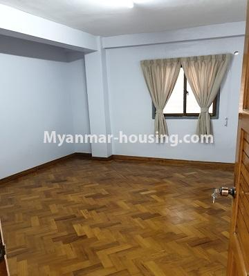 Myanmar real estate - for sale property - No.3430 - Newly renovated 2BHK apartment room for sale in Sanchaung! - bedroom view