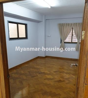Myanmar real estate - for sale property - No.3430 - Newly renovated 2BHK apartment room for sale in Sanchaung! - another bedroom view