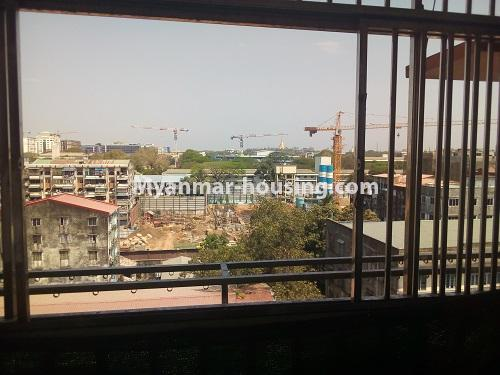 Myanmar real estate - for sale property - No.3432 - 2 BHK China Town Condo room for sale in Lanmadaw! - balcony view