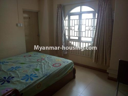 Myanmar real estate - for sale property - No.3432 - 2 BHK China Town Condo room for sale in Lanmadaw! - master bedroom view