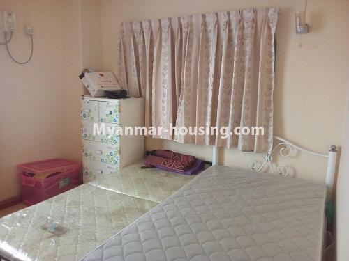 Myanmar real estate - for sale property - No.3432 - 2 BHK China Town Condo room for sale in Lanmadaw! - single bedroom view