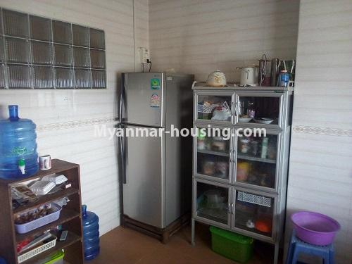 Myanmar real estate - for sale property - No.3432 - 2 BHK China Town Condo room for sale in Lanmadaw! - another view of kitchen