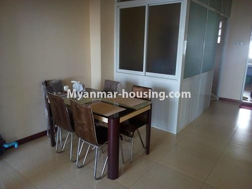 Myanmar real estate - for sale property - No.3432 - 2 BHK China Town Condo room for sale in Lanmadaw! - dining area view
