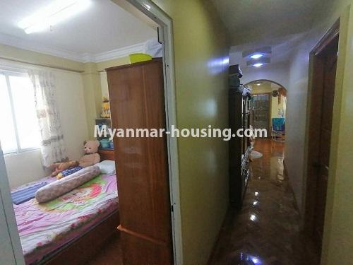 Myanmar real estate - for sale property - No.3442 - Decorated condominium room, fifth floor for sale in Sanchaung! - master bedroom 1 view