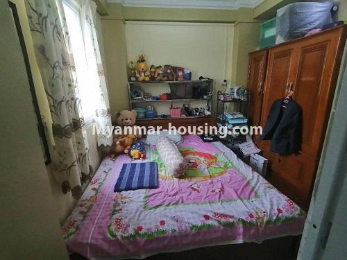 Myanmar real estate - for sale property - No.3442 - Decorated condominium room, fifth floor for sale in Sanchaung! - master bedroom 2 view