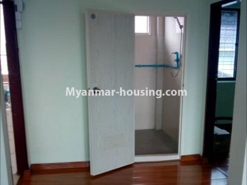 Myanmar real estate - for sale property - No.3455 - Fourth floor 3BHK Apartment room for sale near Laydaunkkan Road, Thin Gann Gyun! - bathroom view