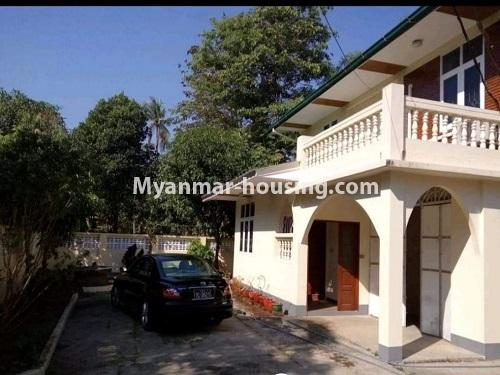 Myanmar real estate - for sale property - No.3456 - 4090 sq.ft land with two storey  house for sale, 7 Mile, Mayangone! - another view of the house