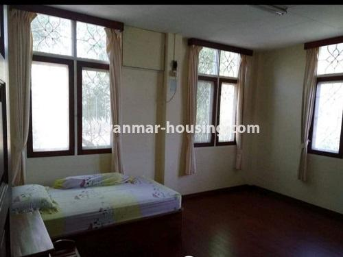Myanmar real estate - for sale property - No.3456 - 4090 sq.ft land with two storey  house for sale, 7 Mile, Mayangone! - bedroom view
