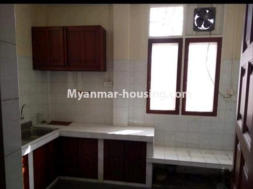 Myanmar real estate - for sale property - No.3456 - 4090 sq.ft land with two storey  house for sale, 7 Mile, Mayangone! - kitchen view