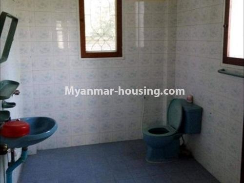 Myanmar real estate - for sale property - No.3456 - 4090 sq.ft land with two storey  house for sale, 7 Mile, Mayangone! - another bathroom view