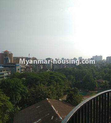 ミャンマー不動産 - 売り物件 - No.3457 - Kan Thar Yar Residential Condominium room for sale near Kan Daw Gyi Park! - lake view