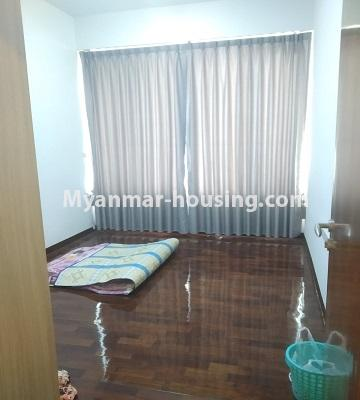 ミャンマー不動産 - 売り物件 - No.3457 - Kan Thar Yar Residential Condominium room for sale near Kan Daw Gyi Park! - another bedroom view