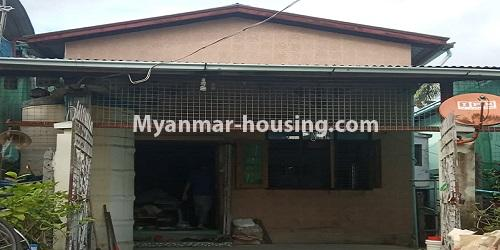 Myanmar real estate - for sale property - No.3462 - RC One Storey Landed House with half attic for sale near City Mart, Minglalar Cinema, No. 2 Market in South Dagon! - house view