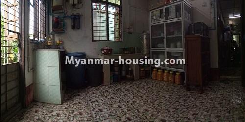 Myanmar real estate - for sale property - No.3462 - RC One Storey Landed House with half attic for sale near City Mart, Minglalar Cinema, No. 2 Market in South Dagon! - kitchen view