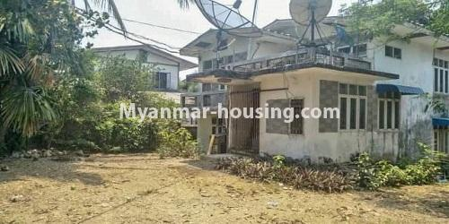 缅甸房地产 - 出售物件 - No.3465 - Landed house for sale in Bahan! - compound view