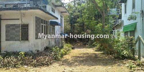 缅甸房地产 - 出售物件 - No.3465 - Landed house for sale in Bahan! - another view of extra land